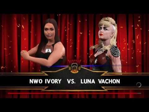 WWE2K17-DIVAS UNIVERSE-NITRO-NWO IVORY V LUNA VACHON.