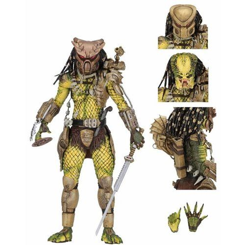 Predator Ultimate Golden Angel 7-Inch Scale Action Figure - NECA - Predator - Action Figures at Entertainment Earth