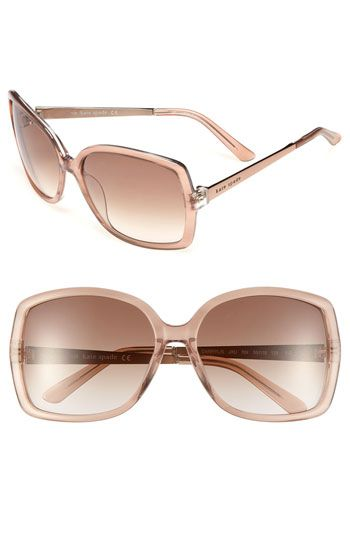 kate spade new york darryl 59mm sunglasses available at #Nordstrom http://sunglassesolstore.tumblr.com/8XI72O   Just bought the same floral sunglasses at Payless for only 24 dollors!