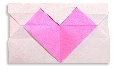 Origami Heart's Letter