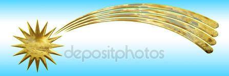 Simbolo stella cometa di Natale — Foto Stock © frizio #134736990