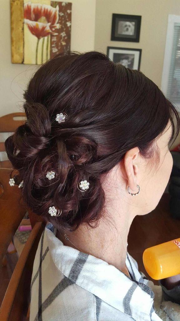 #Updo #FormalHairDesigns #HairJewels #UrbanSpa