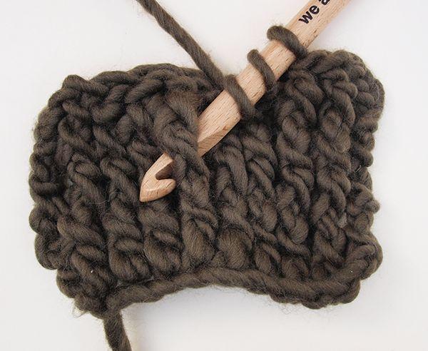 Cómo tejer ochos con crochet