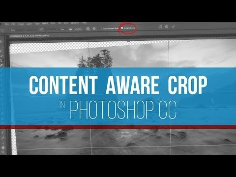 "The Best Way to Crop Images Is by Using Photoshop's ""Content-Aware"" Option: Watch This Video 