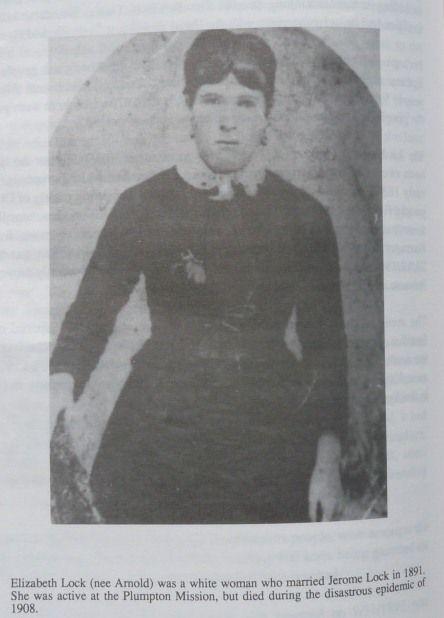Elizabeth Lock married Jerome Lock