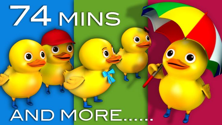 Five Little Ducks | Plus Lots More Nursery Rhymes | 74 Minutes Compilation from LittleBabyBum! 0:04 5 Little Ducks 2:10 Wheels On The Bus part 1 4:03 Pat A C...
