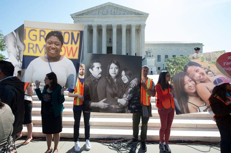 Supreme Court Deadlocks on Obama Immigration Plan. It Remains Blocked. The 4-4 tie dealt a sharp blow to an ambitious program that the president had hoped would become one of his central legacies.The case, United States v. Texas, No. 15-674, concerned a plan to allow as many as five million unauthorized immigrants who are the parents of citizens or of lawful permanent residents to apply for a program that would spare them from deportation and provide them with work permits.