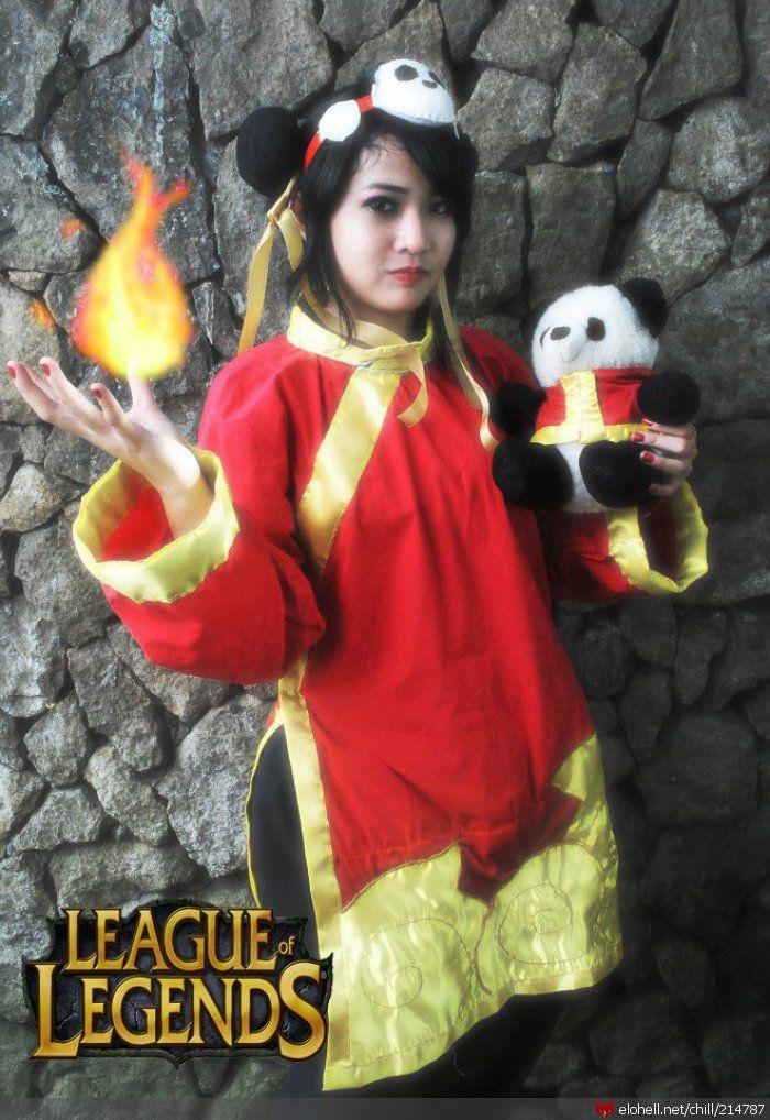 Annie  Skin  Panda Ann...