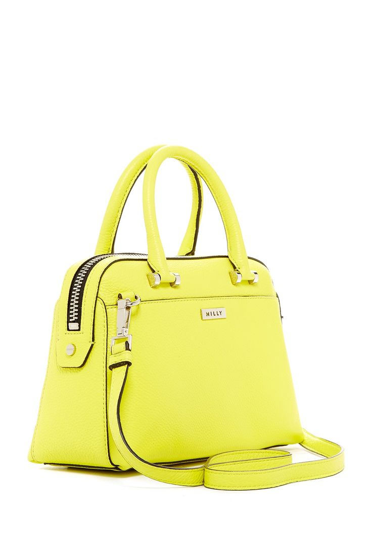 One of the cutest bags ever! MILLY | Astor Small Leather Satchel | Nordstrom Rack