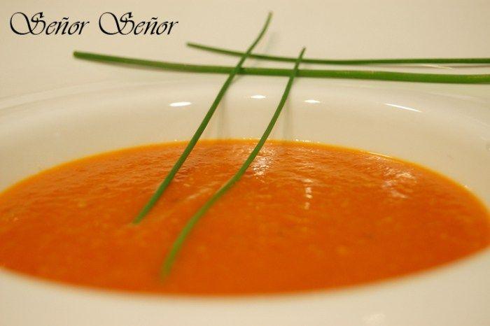 Una crema de tomate sana y fácil