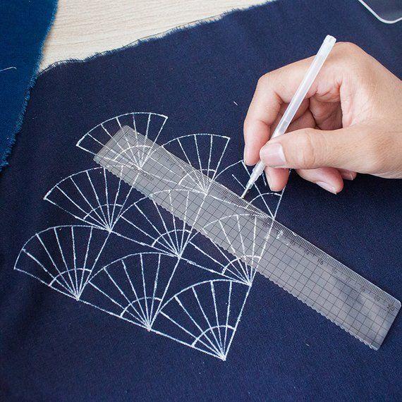 DIY Stickerei Quilt Matte Vorlage Schablonen Zeichnung Handwerk Nähen Gift O6S7