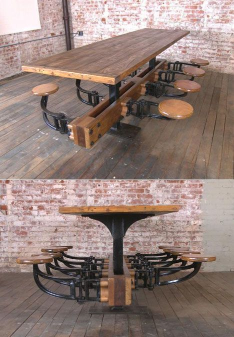 Industrial Design Ideas Creative - The design of these chairs and tables is the result of the idea of ​​oneself. #industrialdesignideascreative #industrial_design_ideas_creative #industrialdesignideas #industrial_design_ideas #industrialdesign