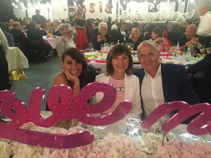 Paola Maugeri, Cristina Rubini and Pietro Negra at Convivio 2016 launch event