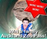 Auckland Zoo Giveaway (Sept 2014)
