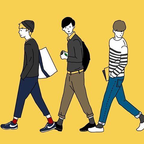 男の子 #illust #illustration #illustrationgram #illustrator #drowing #boy #fashion #絵 #おえかき #イラスト #マッシュ #男の子 #ファッションイラスト