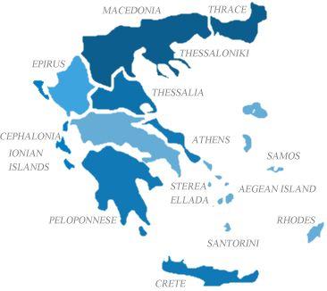 Regiuni Vinuri Grecesti