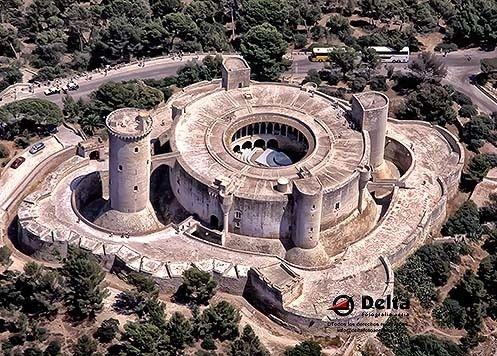 Castillo de Bellver. ©DeltaFotografíaAèria.