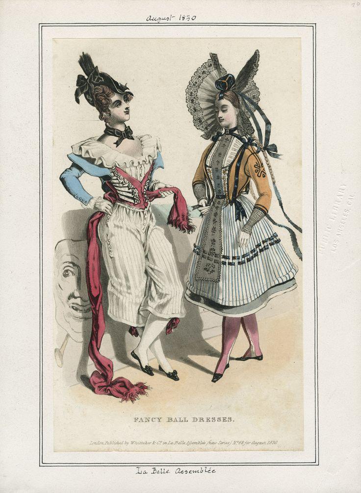 1830 fancy dress