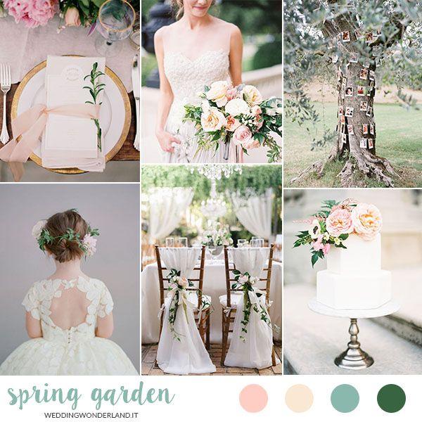 spring garden wedding inspiration http://weddingwonderland.it/?p=27417