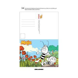 Fesselnd Die Biene Maja Hat Viele Tolle Einladungskarten Für Den Perfekten Maja  Kindergeburtstag Mit Verschiedenen Motiven. Alle Findest Du Hier: