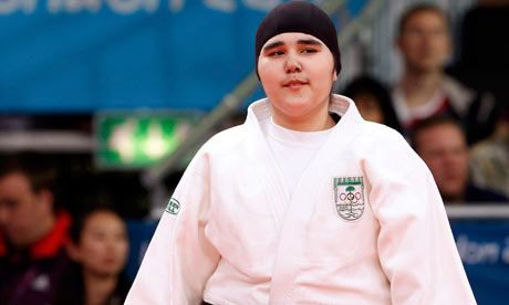 Wojdan Shaherkani  Saudi Arabia's First Female Olympic Athlete, London, 2012