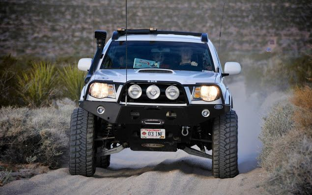 Nice stance - Total Chaos suspension - Tacoma World Forums