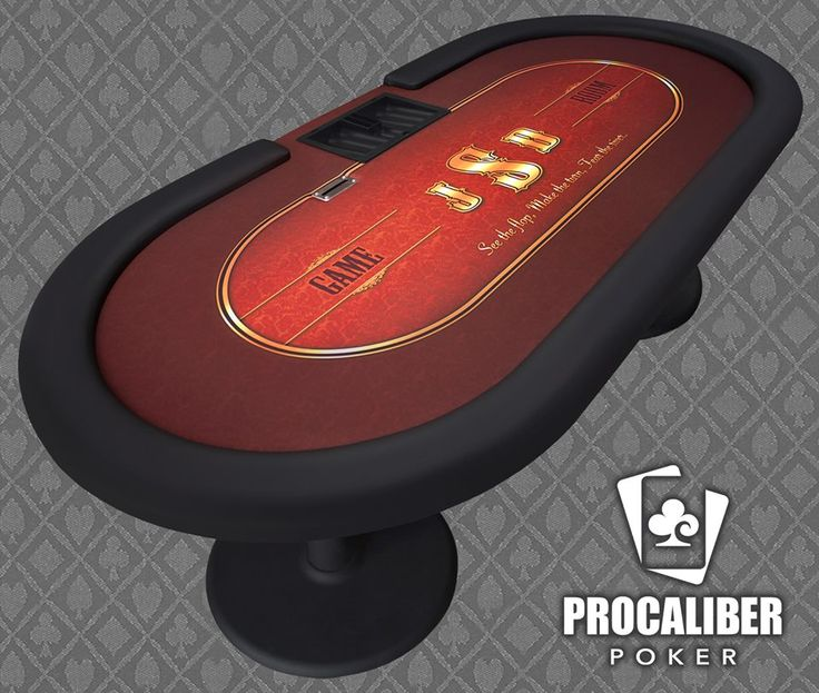 Here Is Another Custom Design Going Out Today. What Type Of Poker Table  Would You