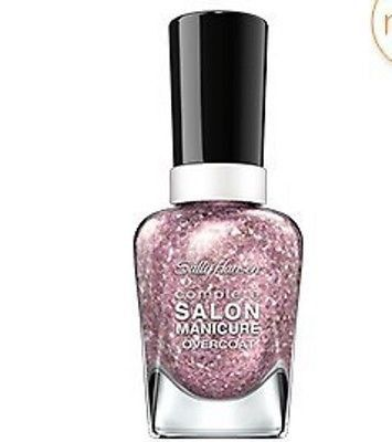 Complete Salon Manicure Sequin Overcoats ~ Blush Over Hue 590
