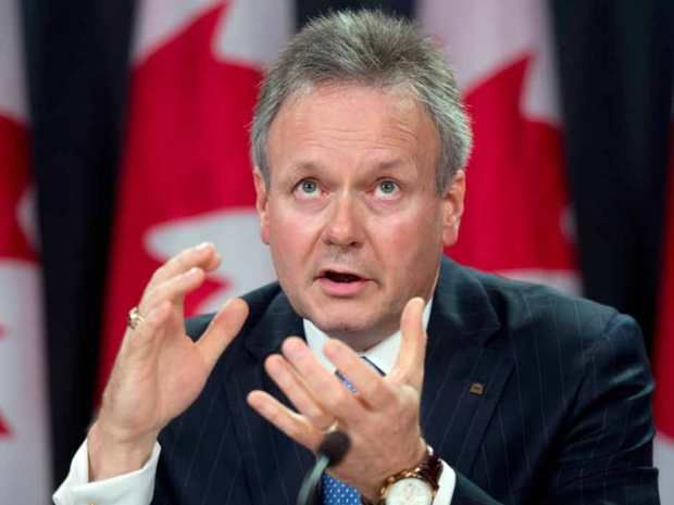 The rate of inflation is rising faster than forecasts, while the economy lags, but for now Stephen Poloz can live with that.