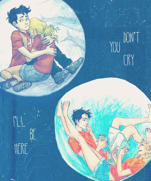 Am I the only one who prefers the fanart of young Percy and Annabeth over when they're 16-17?