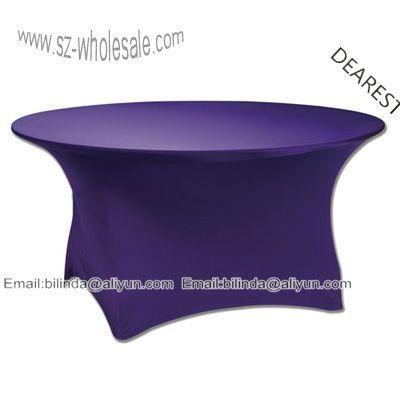 Aliexpress.com : Buy 180cm 72inch 6feet   spandex table cover  lycra table cover from Reliable table cover roll suppliers on DEAREST HOTEL LINEN