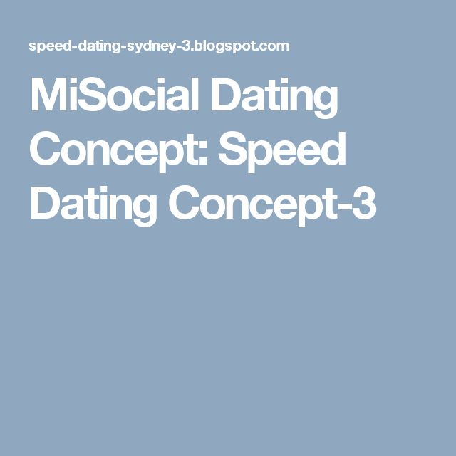 MiSocial Dating Concept: Speed Dating Concept-3