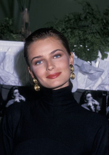 Model Pauline Porizkova attending 'Paulina Porizkova InStore Appearance' on September 26 1988 at Lord and Taylor's Department Store in New York City...
