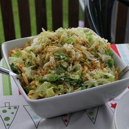 Chinese Cabbage Salad @ http://allrecipes.com.au