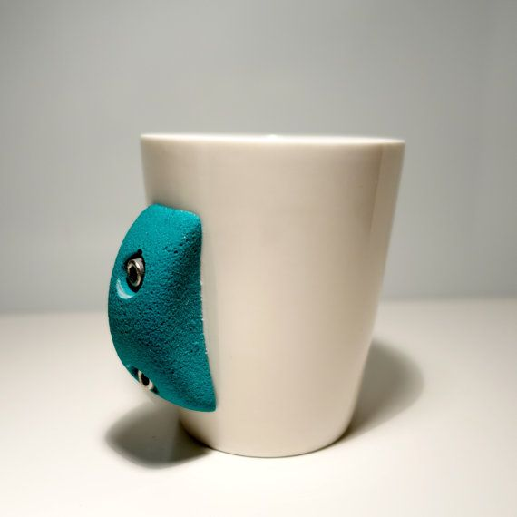 Rock Climbing Mugs by crimpme on Etsy