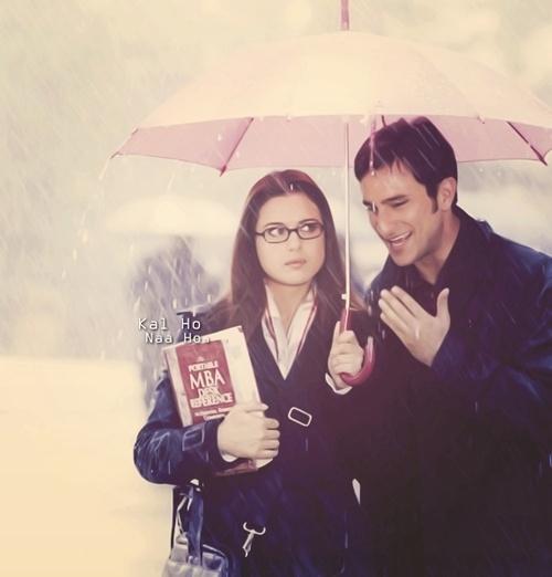 Preity Zinta & Saif Ali Khan from Kal Ho Na Ho. A #favorite #couple #bollywood
