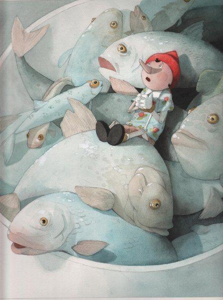 Durmiendo con peces