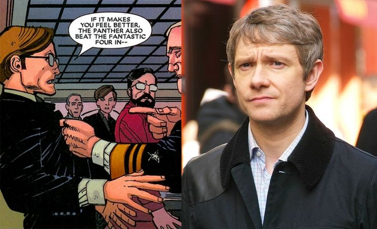 Martin Freeman'ın Captain America: Civil War filminde tayt giymeyeceği açıklandı