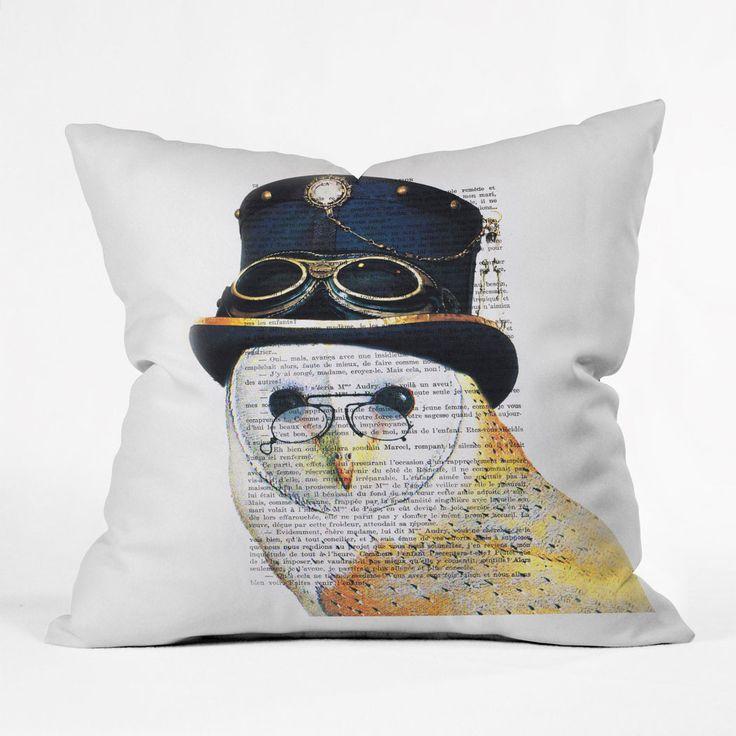 oui owl pillow cover oreillers de hibouoreillers