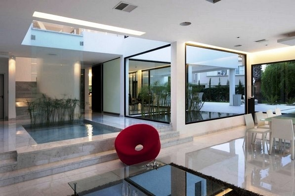 Ultra modern carrara house architecture and home interiors pinter