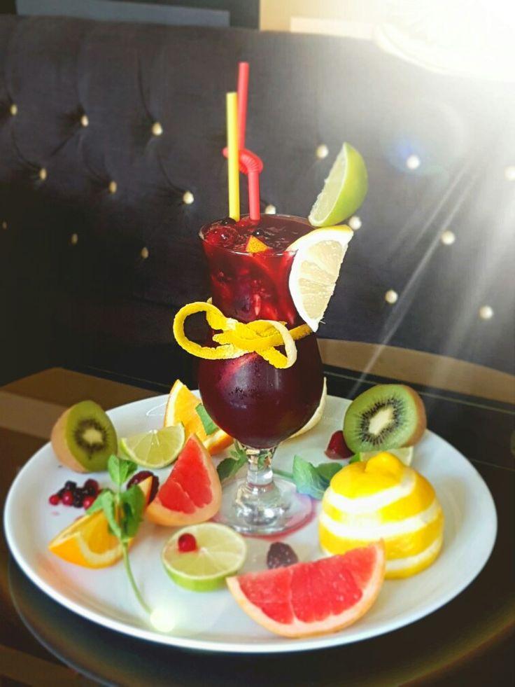 Lemonade at Queens Cafe