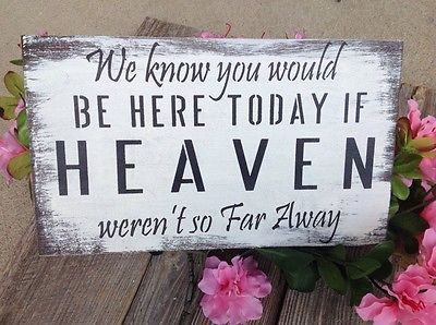 Wedding Memory table sign, remembrance sign,  rustic wedding, wedding sign