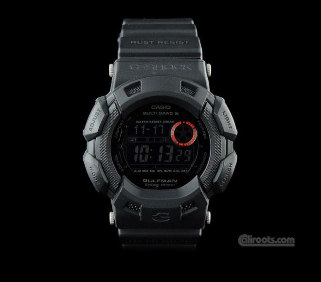 G-Shock Gulfman Black