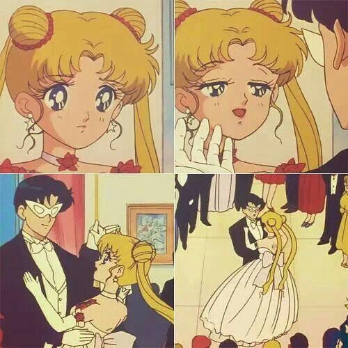 Serena and Darien Sailor moon