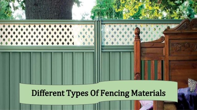 Ideas about types of fences on pinterest fence