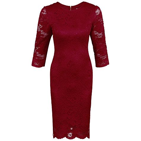 Buy Jolie Moi Scalloped Lace Midi Dress Online at johnlewis.com