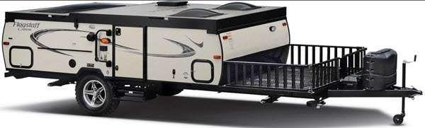 Flagstaff Hard Side Folding Pop-Up Camper | RV Sales | 6 Floorplans
