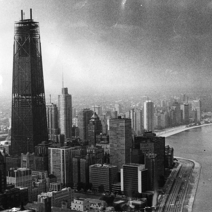 The John Hancock Center Under Construction, Photographed