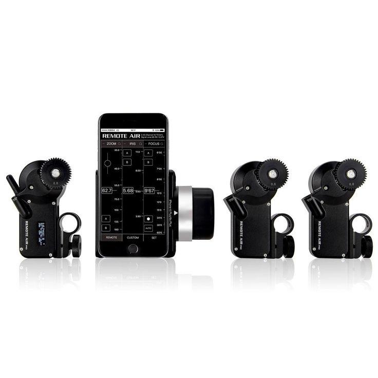 PDMOVIE PD3-P3 Remote Air Pro iOS Wireless FIZ Lens Control System (Triple Channel)