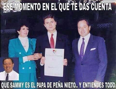Das pena nieto enrique peña nieto hijo de sammy papá jajaja chiste